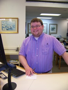Picture of Corinth Librarian Cody Daniel
