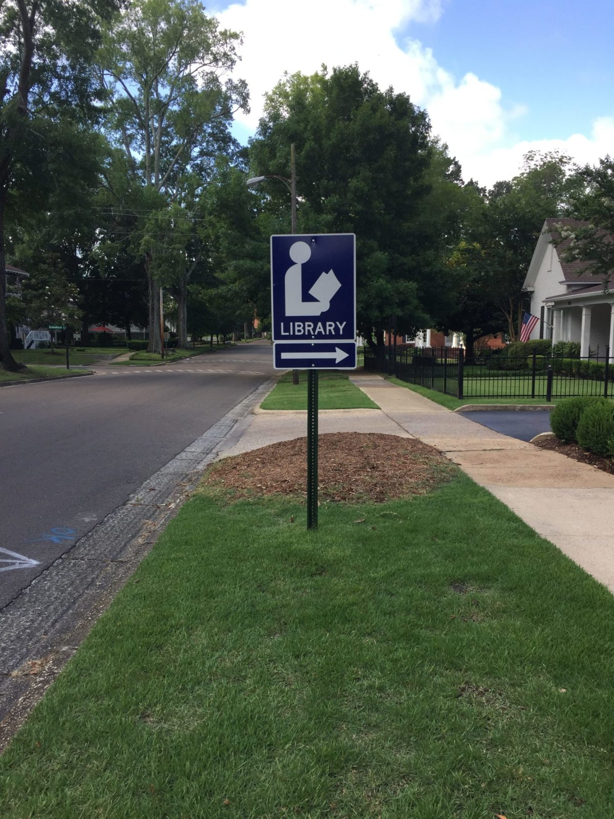 Library-L-Sign