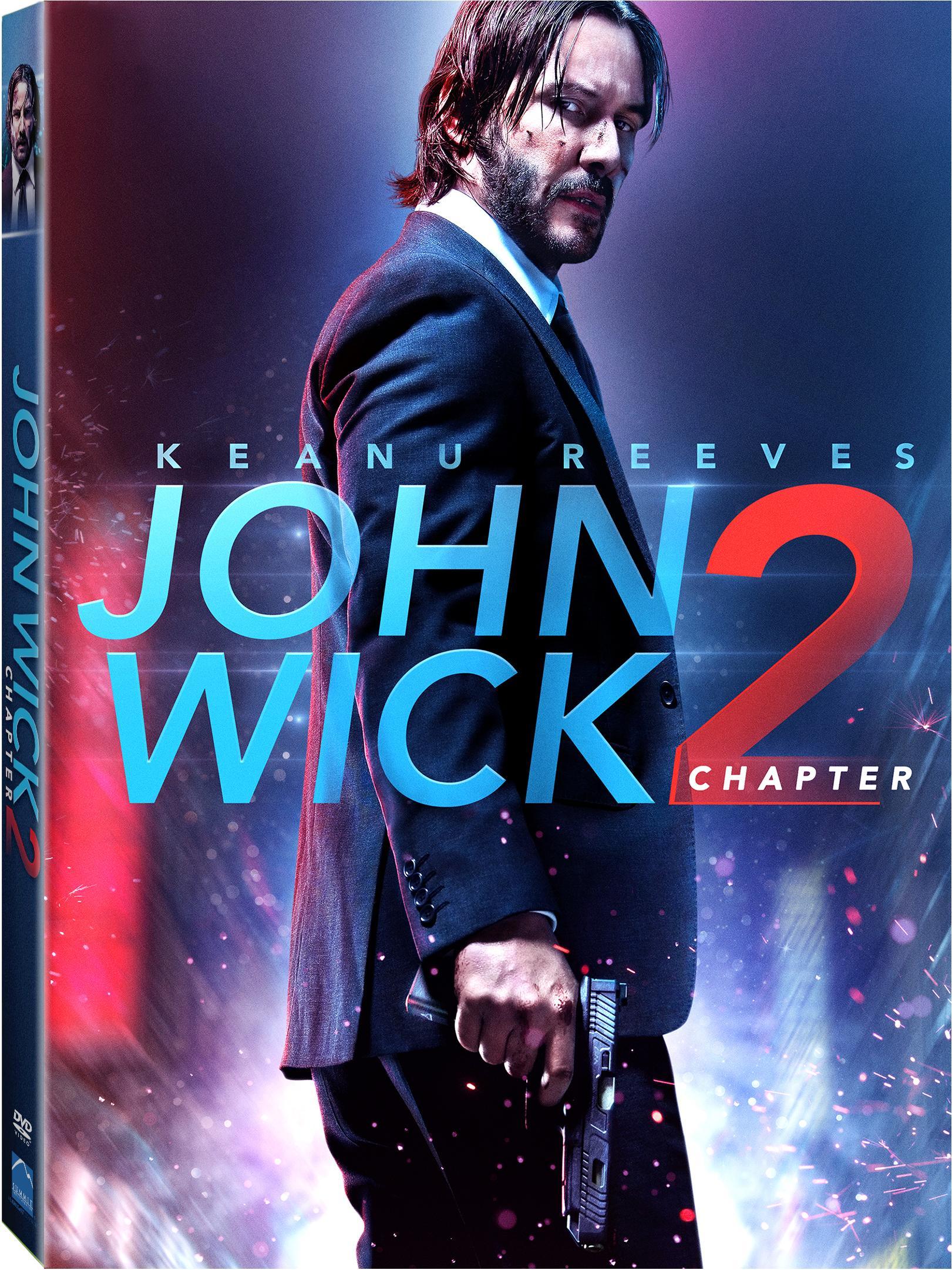 John Wick Chapter 2 DVD