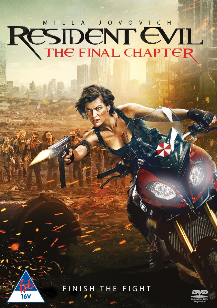 Resident Evil The Final Chapter DVD