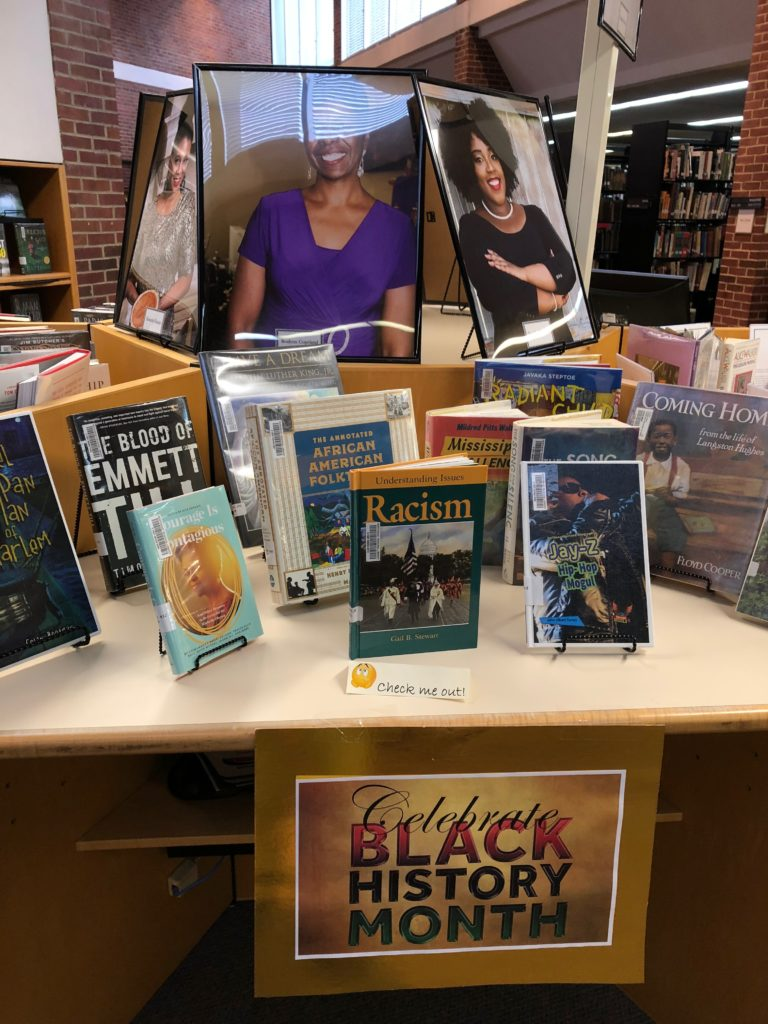 Black History 2018 Display Corinth Library
