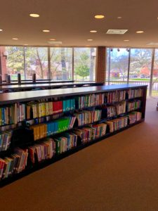 Corinth Library view childrens