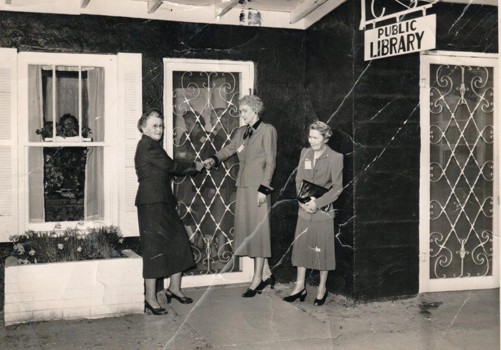 Iuka Public Library 1950s