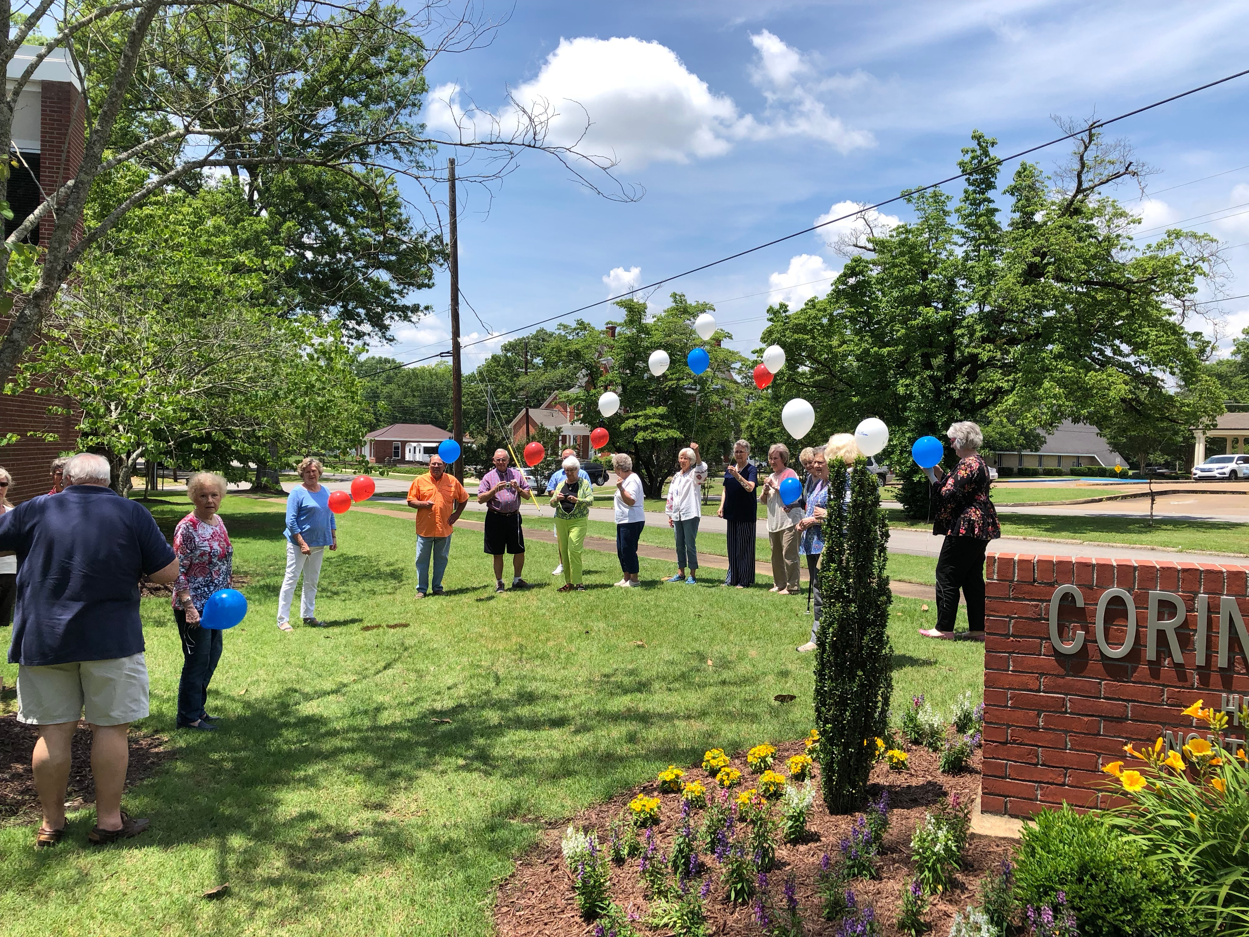 CO Library Butterflies Release May 2018 BEES FUMC