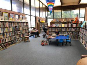 George E Allen Library Booneville children