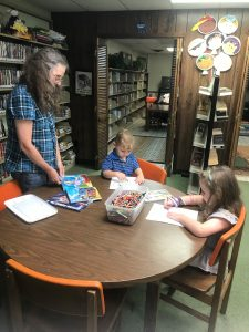 Snapshot Day at Belmont Library, August 6, 2019